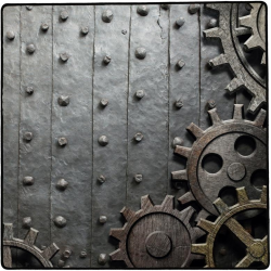Tapis de jeu 76x76 Rusty Gear