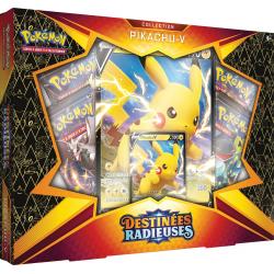 Pokémon : Coffret Pikachu-V - Destinées Radieuses