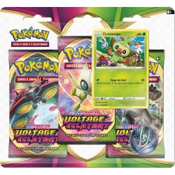 Pokémon - Pack 3 boosters Epée & Bouclier 4 Voltage Eclatant Février 2021