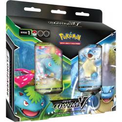 Pokémon : Deck de Combat-V Florizarre-V VS Tortank-V (Bundle)