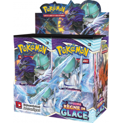 Pokémon - Display de 36 Booster Epée & Bouclier EB6 Règne de Glace