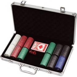 Mallette de Poker 300 jetons 11.5G