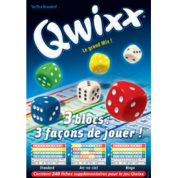 Qwixx : Recharge 3 blocs