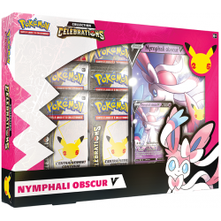 Pokémon Celebrations - Coffret Nymphali Obscur-V FR