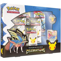 Pokémon Celebrations - Coffret Pin's Deluxe  Zacian NIV.X FR
