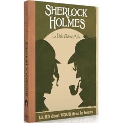 BD dont vous êtes le Héros - Sherlock Holmes - Le Défi d'Irène Adler