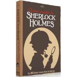 BD dont vous êtes le Héros - Quatre Enquêtes de Sherlock Holmes