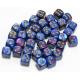 Set de 36 dés - Gemini Bleu-Violet/Or