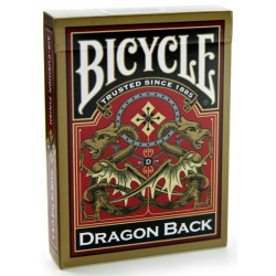 Jeu de 54 cartes bicycle Dragon Back