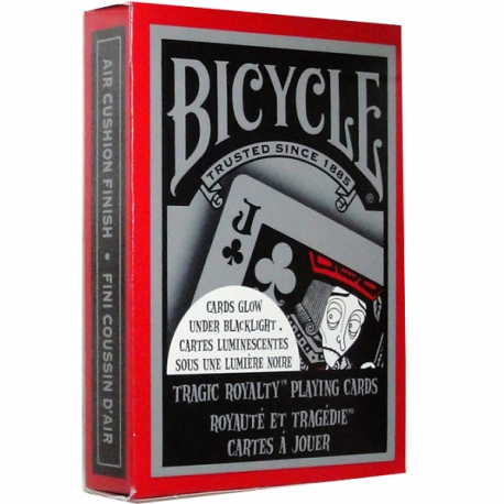 Jeu de 54 cartes bicycle Tragic Royalty