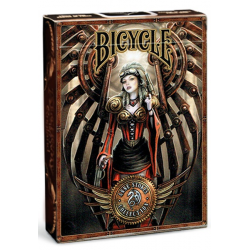 Jeu de 54 cartes bicycle Anne Stokes Steampunk