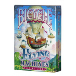 Jeu de 54 cartes bicycle Flying Machines