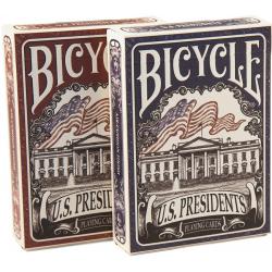 Jeu de 54 cartes bicycle US Presidents