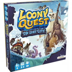 Loony Quest : Extension The Lost City