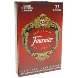 Jeu de 32 cartes Fournier figures françaises
