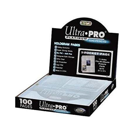 Feuilles de Classeur Ultra Pro Platinium Series