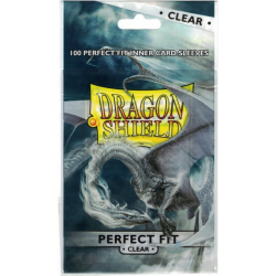 Protège-cartes Dragon Shield Perfect Fit Clear