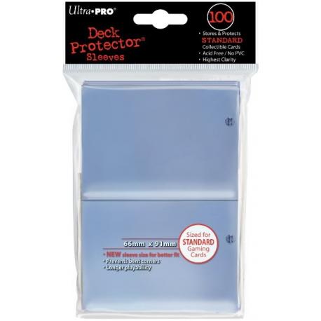 Protège-cartes Ultra Pro Standard Transparent x100