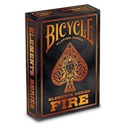 Jeu de 54 cartes bicycle Fire