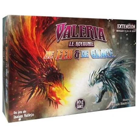 Valeria le Royaume - Extension de feu et de glace