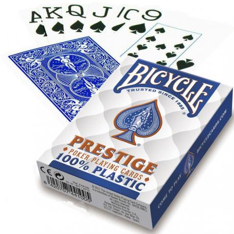 Jeu de 54 cartes bicycle 100% Plastique