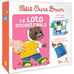 Petit Ours Brun – Le loto encastrable
