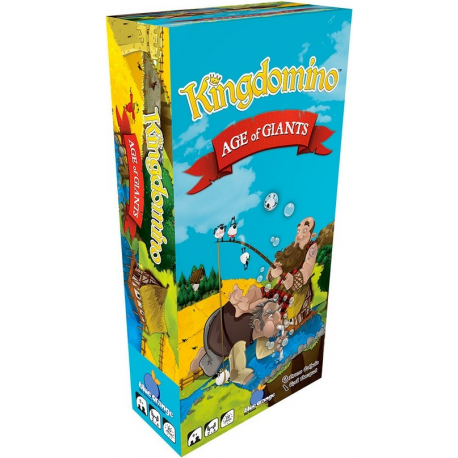 Kingdomino : extension - Age of Giants