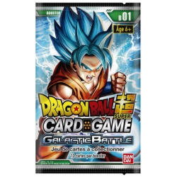 Boosters Dragon Ball Super - Galactic Battle