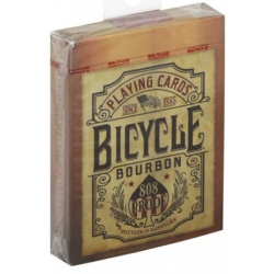 Jeu de 54 cartes bicycle Bourbon