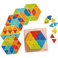 Jeu d'assemblage - Triangles Magiques