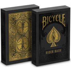 Jeu de 54 cartes bicycle Premium Black and Gold