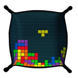 Piste de dés Néoprène immersion - Tetris