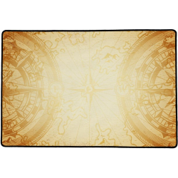 Tapis de jeu 40x60 Compass Sepia