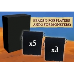 Kemet : Blood ans Sand - Bags for Soldier and Monsters