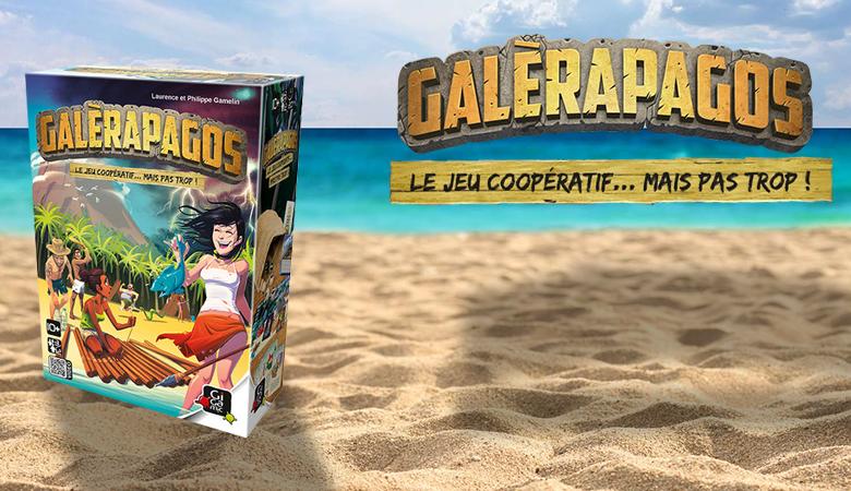 Dans Galérapagos, faites équipe pour survivre mais soyez prêt à sacrifier vos camarades en cas de pénurie.
